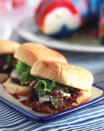 Short RIb and Brie Slider