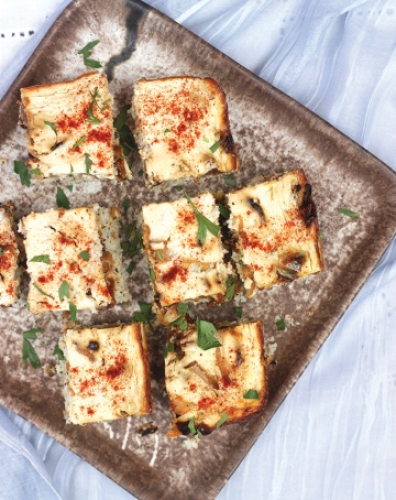 swiss onion squares