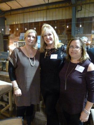 Diane Mosley, Jeanette Beard and Lauren Stokes