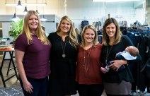 Amanda Edwards, Rebecca Tabb, Jennifer Prather, Abby McCartney