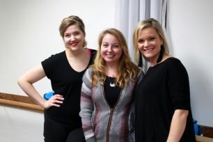 Loren Tames, Jennifer Burt and Marcie Atkinson